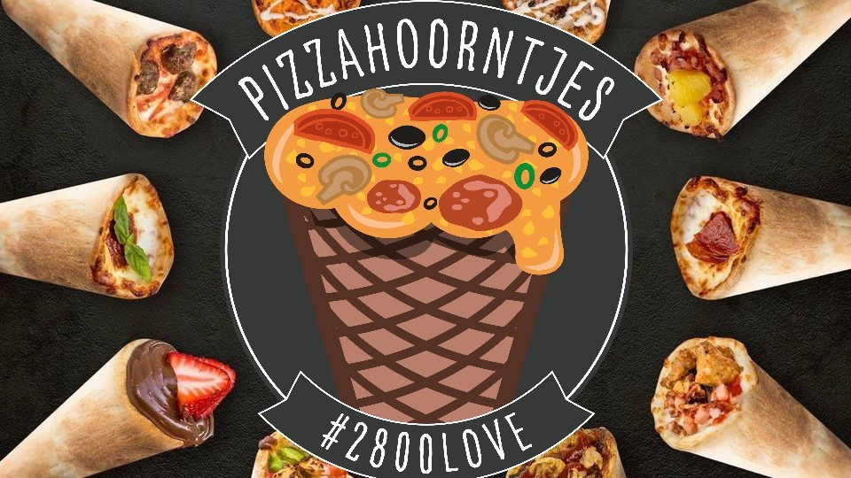 Pizzahoorntjes Foodtruck