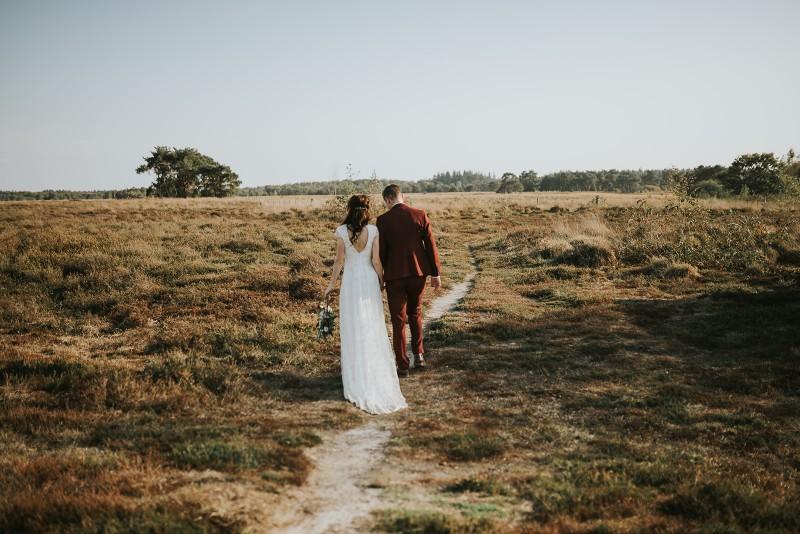 Romantisch en warm: herfsthuwelijk inspo bij dit trouwfeest van N&S!