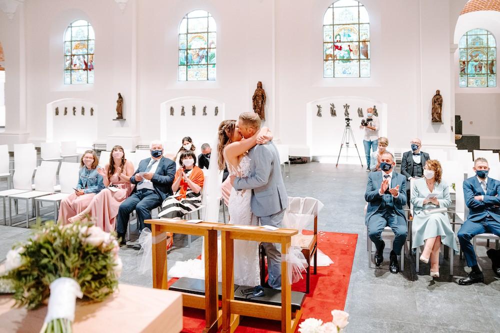 REAL WEDDING - Het intieme Coronaproof trouwfeest van Stefania en Sandro