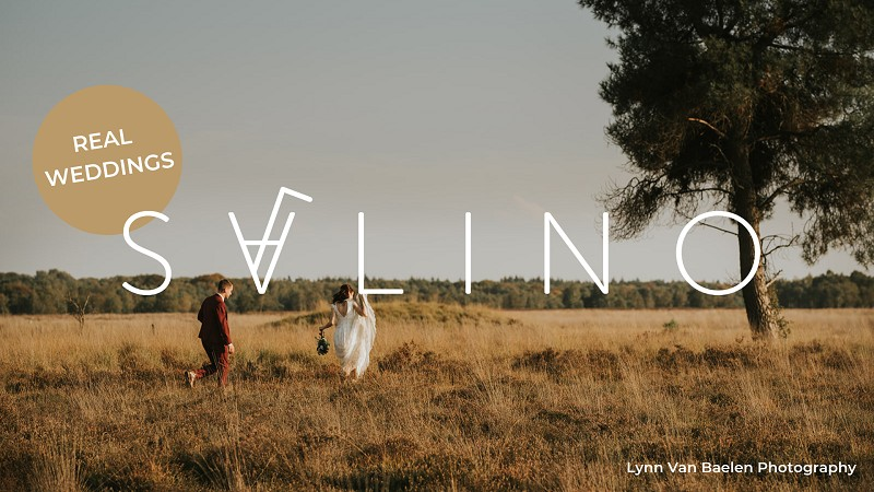 Jouw trouwfeest op de Salino blog? Wij kiezen elke maand één Real Wedding uit!