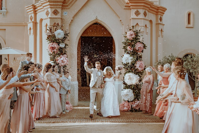 REAL WEDDING Het zuiders trouwfeest van Anna & Yevgenij in Costa Brava