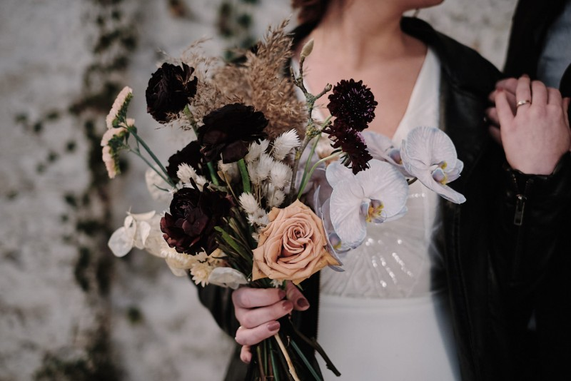 Het bewijs dat stoere weddings óók heel romantisch kunnen zijn!