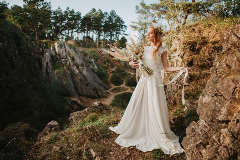 MUST SEE Bridal Shoot voor de avontuurlijke bruid die van de natuur houdt!