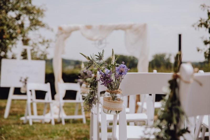 Een vleugje Provence: het mediterraans geïnspireerde trouwfeest van L&K