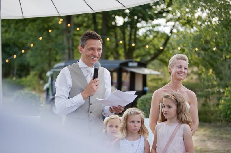 Het kidsproof maar ook ultrarelaxed trouwfeest van Kristine & Ben