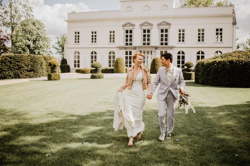 REAL WEDDING De romantische kasteelbruiloft van Leen en Laurent