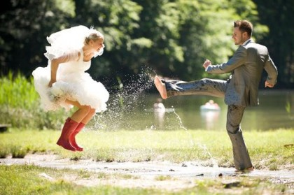 Tips voor als het regent op je trouwdag